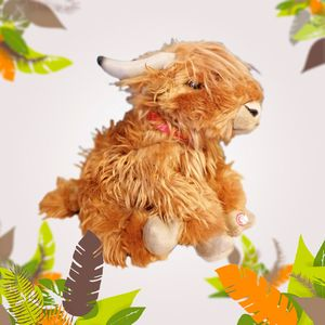 Peluche Highland Cattle